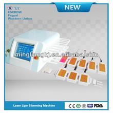 2014 bigger professional screen diode laser slimming professional 2012