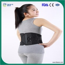 made in china 2015 CE/FDA Approvals Medical Adjustable back support girdle, lumbar back support belt, waist support belt