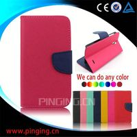 China Manufacturer wallet leather mobile phone case cover for Archos 40 Titanium