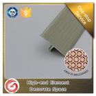Professional personalizado T forma de alumínio perfil transição piso laminado
