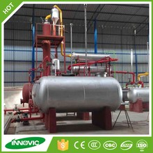 Waste recycling to diesel gasoline plant crude petroleum oil refineries