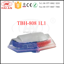 Security vehicle roof top signal light emergency strobe LED warning beacon light with stong magnet TBH-808 1L1