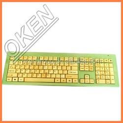 oken top sale grade standard keyboard natural bamboo keyboard and mouse
