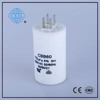 Column Capacitor For CBB60 Motor Run