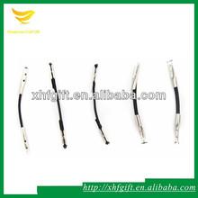 negro elástico de púas cuerda