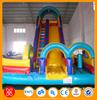 amusement park toys plastic slide inflatable water slide for sale