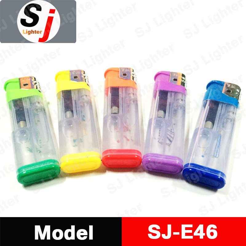 Safety Gas Lighter Electronic Lighter Without Gas