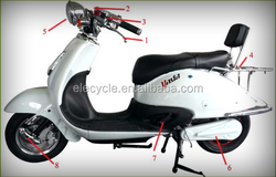 1200W motor electric motorcycle