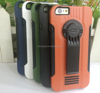 With holder leather case for iPhone 6/6s