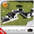 Dysf- vr1049 danyalife outdoor living collection poly rotin jardin canapés modulaires