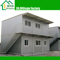 Portable Prefabricated 2 Floor Container House/ Office/ Dormitory/ Dwelling/ Flat/ Residence