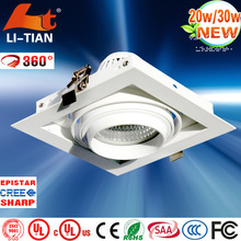 2014 Hot sale dimmable high quality super quality color changing led down light with IES files