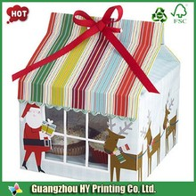 Color printing luxury custom design cupcake box