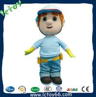 high quality stuffed electrician life size plush doll