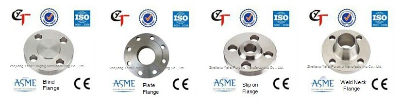 DIN forged pipe flange