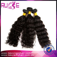 best quality fast delivery popular 5A 28inch curly wave can be permed natural black brazilian hair