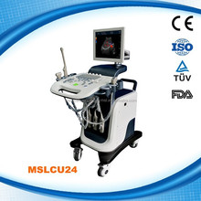 Professional 4D color doppler ultrasound machine, echographe 4D with trolley