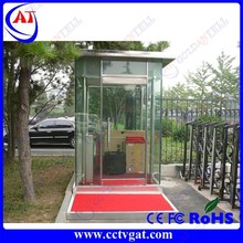 Easy to assemble and enviroment friendly border inspection booths,security access control checkpoints