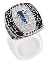 Fantasy sport rings specific custom championship rings
