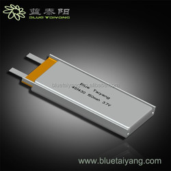 150mah small capacity recharge battery 451430 Square recharge battery
