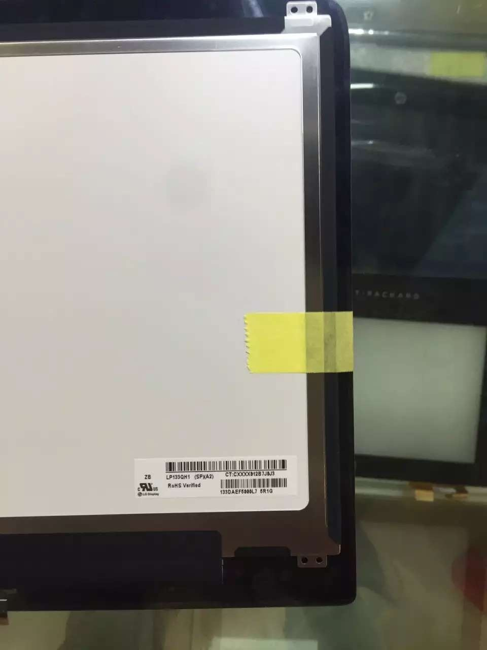 """13.3/"""" HP Spectre 13T-3000 3010 LP133QH1-SPA1 LCD Display Touch Screen Assembly"""