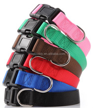 top seller nylon webbing dog collars pet products supplier