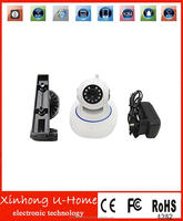 3.6mm rotatable lens free p2p server CMOS 720P sport smart camera wifi manufacturer support wireless alarm for older and baby