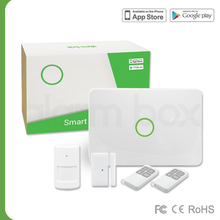 New products 2016 google android app home alarm system with mobile home GSM Alarm Box S1