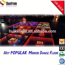 2015 Popular Thailand 3D dmx full color led dance floor
