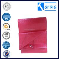 korea material plastic sheet waterproof pe tarpaulin in standard size