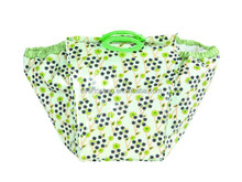 Double color tote trolley shopping bag with chair