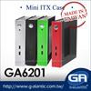 GA6201 Fanless Computer Case for thin mini itx Digital Signage