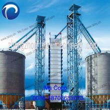 100 T / D del arroz de arroz grano secador de fabricación profesional