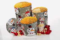 Holiday gift wholesale artificial christmas tin boxes