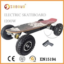 kick small electric powered skateboard