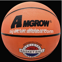 custom cheap 500-520 g promotions rubber basketball 5#