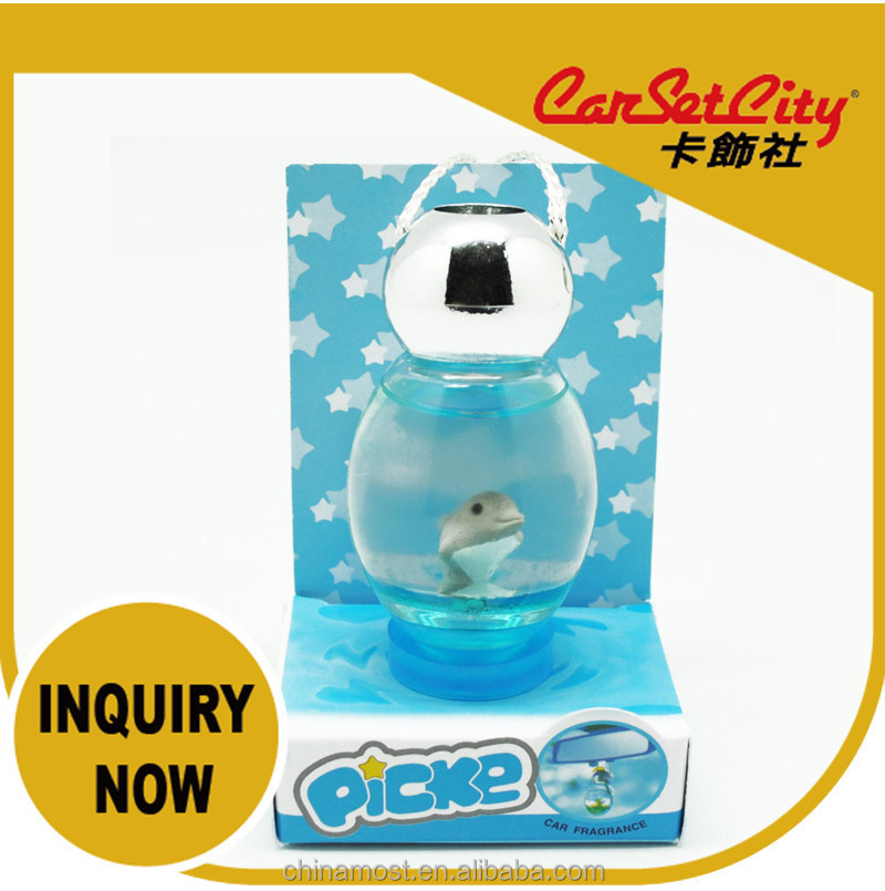 CarSetCity Firefly Car Air Freshener Fruit soft drinks Dolphins 27ml cute