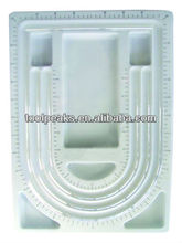 Jewelry Bead Design Board With Transparent PVC Cover and size as per request