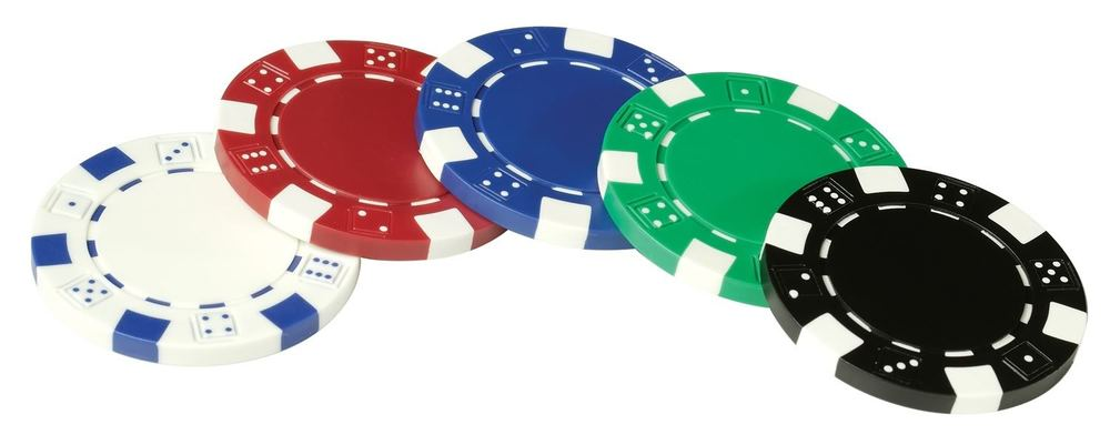 Striped dice poker chips poker odds calculations