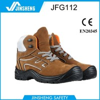 2015 CE suede leather safety boots Anti-static anti-puncture breathable safety shoes