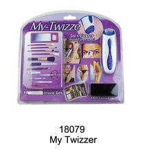NEW ELECTRIC WIZZIT MY TWEEZE TWEEZERS HAIR REMOVAL REMOVER EPILATOR / TWIZZER