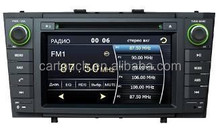 Touch screen car dvd player car dvd for Toyota Avensis (2009~2012) car dvd gps navigation with bluetooth+built-in gps