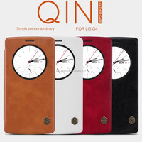 2015 High quality New product Smart view Flip Leather case For LG G4