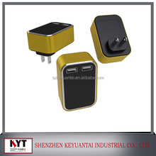 Wholesale US,EU,KC,UK,AU Wall Plug 0.8A wall charger KC certificate mobile charger making machine multi usb cellphone charger