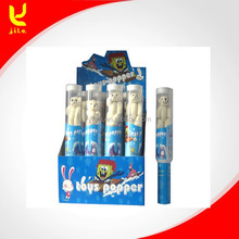 Toy Party Poppers in Grenade Transparence Tube with Safety Net