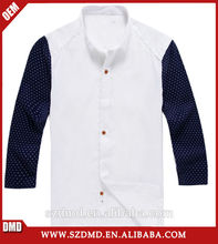 Ropa exterior ocasionales algodón de manga larga hombres camisa de lino