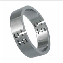 Yiwu Aceon Stainless Steel Female Symbol Gay Pride Brushed Band