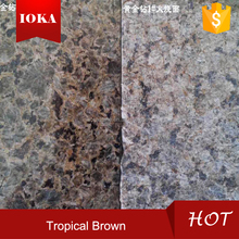 honed tropic brown granite tile