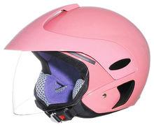 2015 motorcycle helmet DOT/ECE/AS1698/Inmetro helmet open face half face pink color