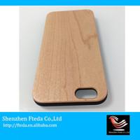 Popular wholesale festival cheap wood smartphone case